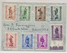 LM53805 Belgium 1943 nice cover with good cancels used