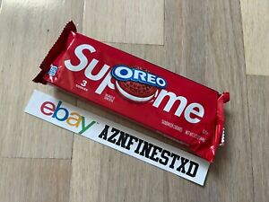 NEW SEALED Supreme Oreo Cookies Red Limited Edition IN HAND SHIPS TODAY