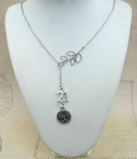 Lariat Silver Plated Fashion Necklaces & Pendants