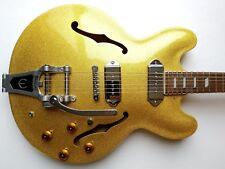 Epiphone Casino VT-GF Hollow Body Electric Guitar Very Rare 1996 Gold MIK w/HSC