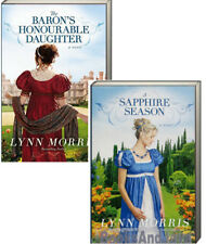 Baron's Honourable Daughter & A Sapphire Season (pb) Lynn Morris Regency Era 2pk