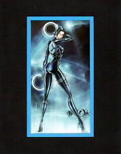 TRON - QUORR PRINT PROFESSIONALLY MATTED Jamie Tyndall