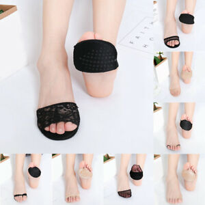 Honeycomb Non-Slip Toe Socks Forefoot Pad High Heels Invisible Socks Foot Care