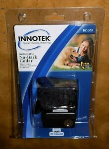 INNOTEK Automatic No-Bark Dog Collar BC-50B Affordable Bark Control BRAND NEW