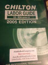 Chilton 2005 Labor Guide CD-ROM - PLUS - 2012 Specification Guide