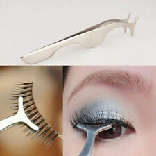 Pro Beauty False Eyelashes Extension Clip Tweezer Nipper Tool Applicator Remover