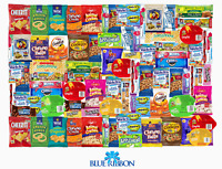 Care Package 90 Count Snack Sampler Gift Basket