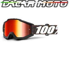 Panel Gafas 100% Accuri Off Road Moto Cross Lentes Espejo + Neutral