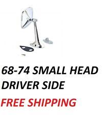 CORVETTE MIRROR OUTSIDE DOOR EXTERIOR 68-74 BLOW OUT LH DRIVER Side