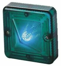 Sonora ST LED Beacon, Green LED, Flashing or Steady Light Effect, 24 V dc