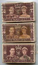 GB 1937 CORONATION 300 stamps OLD KILOWARE BUNDLES SG461...L4