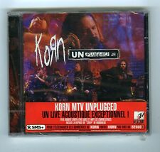 CD (NEW) KORN UNPLUGGED (FEAT.ROBERT SMITH/THE CURE)