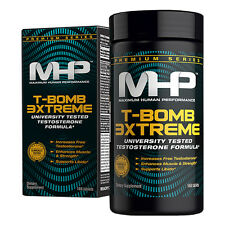 MHP T-BOMB 3 XTREME Testosterone Booster 168 tabs, ENERGY STRENGTH LIBIDO MUSCLE