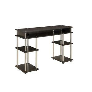 Convenience Concepts Designs2Go No Tools Student Desk, Espresso - 131436ES