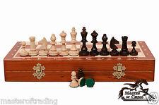 """TOURNAMENT NO.3"" Professional Wooden Chess Set"