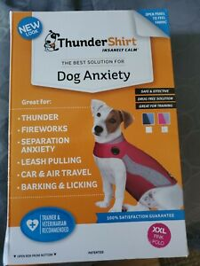 Thundershirt Sport Dog Anxiety. Color PINK POLO,  SIZE XXL