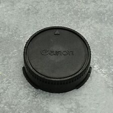 Genuine Canon FDn & FD Rear Lens Cap AE-1 AV-1 T-60 T-70 T-90 50mm f1.8 (#1388)
