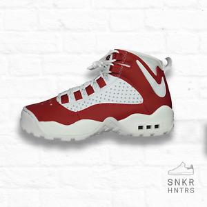 Nike Air Darwin 'Dennis Rodman' Size 8 Varsity Red & White AJ9710-600 Shoes