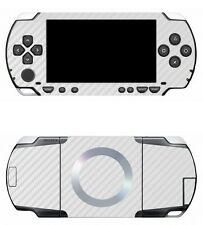 White Carbon Fiber Vinyl Decal Skin Sticker Cover for Sony PSP 1000