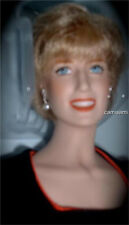 Franklin Mint DIANA PRINCESS OF CHARM PORTRAIT DOLL NIB
