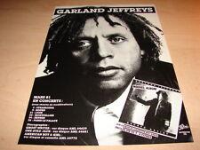 GARLAND JEFFREYS - ESCAPE ARTIST!!!FRENCH PRESS ADVERT