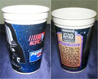 STAR WARS TRILOGY BECHER SPECIAL EDITION VON KFC 1996