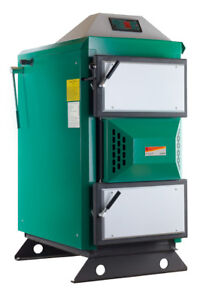 60kW Angus Super Wood Log Boiler (grants available under RHI for 20 years)