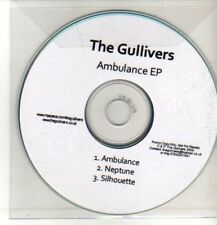 (CQ520) The Gullivers, Ambulance EP - 2008 DJ CD
