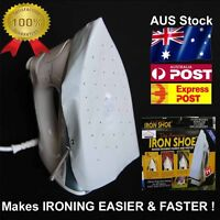 IRON COVER shoe pad - ironing cloth protector for protection of delicate fabric