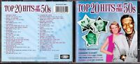 CD 726 TOP 20 HITS OF THE 50s