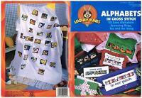 LOONEY TUNES ALPHABETS - CROSS STITCH BOOK