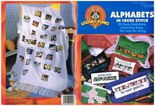 LOONEY TUNES ALPHABETS - CROSS STITCH BOOK