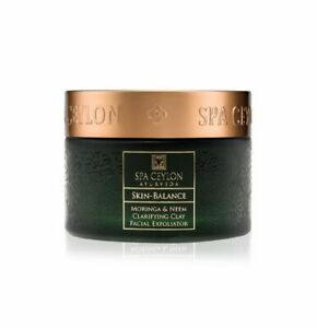 Spa Ceylon Ayurveda Moringa & Neem Clarifying Clay Facial Exfoliator All Natural