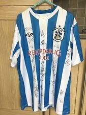 Huddersfield Town Home Shirt 12/13 Season! Signed! Look In The Shop!