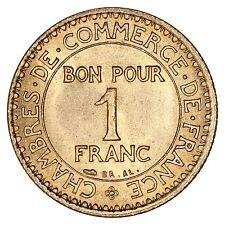 "France / 1 franc 1921 ""Chambre du commerce"" / Spl"