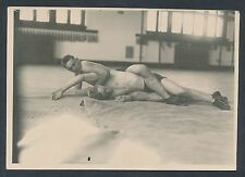 "1918 JOE STECHER Vintage Wrestling Photo ""The Half Nelson"""