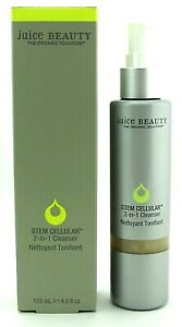 Juice Beauty Stem Cellular 2-in-1 Cleanser 4.5 oz. Full Size New in Box