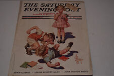 Original Vintage September 28, 1935 The Saturday Evening Post Magazine