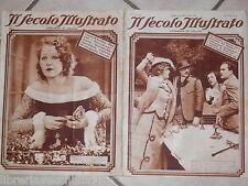 IL SECOLO ILLUSTRATO 16 23 marzo 1929 Tragedia di Meyerling Bandito Romanetti di
