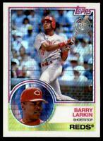 2018 Topps '83 Topps Silver Pack Chrome #110 Barry Larkin