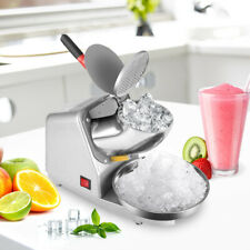 187 Lbs Ice Shaver Machine Snow Cone Maker Shaved Ice Electric Crusher Shaving