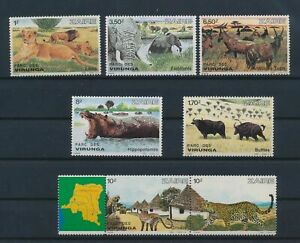 LN53329 Zaire animals fauna flora wildlife fine lot MNH