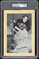 1934-44 Beehive Doug Bentley (Chicago Black Hawks) Autographed/Signed - PSA/DNA
