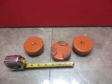 SODICK FS-30 CNC EDM LOT OF LEVELING LEGS PADS FEET PAD  3'' LEG UNIT BLOCK