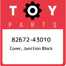 82672-43010 Toyota Cover, junction block 8267243010, New Genuine OEM Part