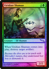 Viridian Shaman FOIL Mirrodin PLD Green Uncommon MAGIC MTG CARD ABUGames