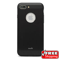 NEW Moshi iGlaze Armour Case for Apple® iPhone 7/8 Plus Onyx Black