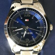 Tommy Hilfiger Men's Blue Dial Stainless Steel Bracelet Watch (New in Box; $95)