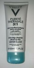 Vichy Purete Thermale 3 In 1 One Step Cleanser Sensitive Skin 3.3 oz New Sealed