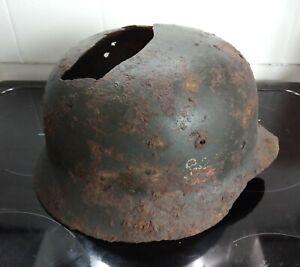 WW2 German Relic M35 helmet found Stalingrad
